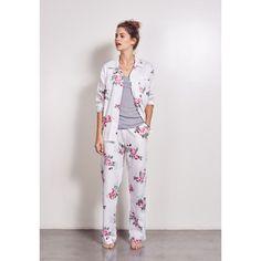 Summer Vintage Rose Pyjamas