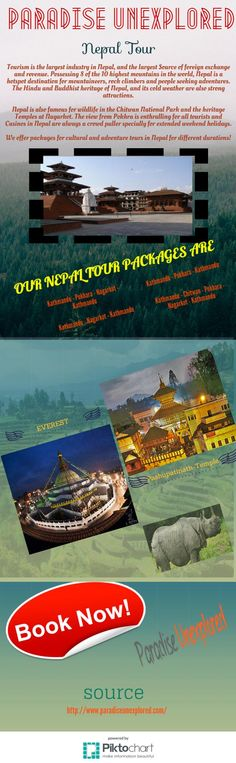 Get amazing deals on nepal tour with paradise unexplored at affordable price and enjoy your holidays with your family, friends and partner. Visit : http://www.paradiseunexplored.com/nepal-tour.html