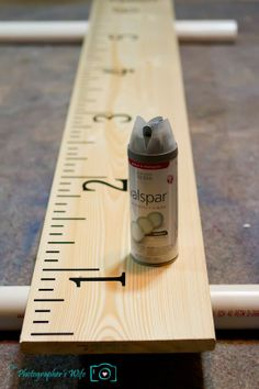 DIY Growth Chart Ruler   The Photographer's Wife - Parenting, Reviews, Disney, Travel, Photography, Crafts, Recipes
