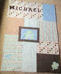 Custom Michael quilt