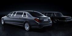 Mercedes célèbre des 50 ans de Pullman avec cette version Maybach de 6,50 m.