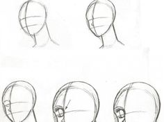 ¡Como dibujar rostros Anime! - Taringa!