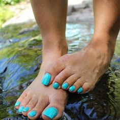 Image may contain: one or more people, shoes, closeup and outdoor Pretty Pedicures, Pretty Toe Nails, Cute Toe Nails, Pretty Toes, Feet Soles, Women's Feet, Long Natural Nails, Nice Toes, Pedicure Colors
