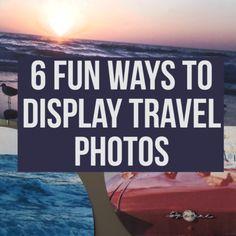 6 fun ways to display travel photos hgtv videos. Country Christmas Decorations, Farmhouse Christmas Decor, Bokeh, Travel Pictures, Travel Photos, Patagonia, Photo Hacks, Photo Ideas, Travel Crafts