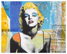 Marilyn Monroe - Pop Art Poster Print | Marilyn Monroe Pop A… | Flickr