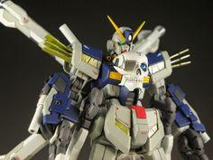 HGBF 1/144 Crossbone Gundam Maoh Kai Custom Build - Gundam Kits Collection News and Reviews