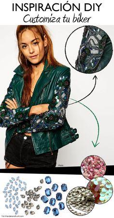 Inspiración DIY: customiza tu chaqueta de cuero