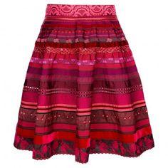 A most beautiful ribbon skirt from Austrian designer Lena Hoschek
