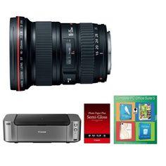 Bargain - $1,649 (was $1,926.95) - Canon EF 16-35mm f/2.8L II USM Ultra Wide Angle Lens Kit w/ Pro 100 & 50-Pack Paper @ BuyDig.com