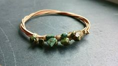 Check out this item in my Etsy shop https://www.etsy.com/listing/246660636/gold-bangle-bracelet-turquoise-bangle