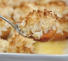Apricots with Macaroon Topping - Quick and Easy Recipes, Organic Food Recipes, New Zealand Cooking Recipes - Annabel Langbein Fruit Recipes, Baking Recipes, Dessert Recipes, Easy Recipes, Cheesecake Recipes, Recipies, Easy Meals For One, Quick Easy Meals, Apricot Dessert