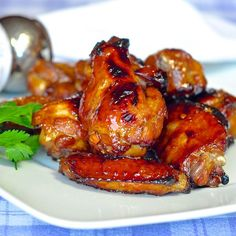 Looking for more Superbowl game day feasting ideas? Check out this post with 45 Party Food Ideas Oven Baked Ginger Chili Glazed Wings We love great wings around here; it's one of our favorite things to serve when friends come over and we make lots of different kinds too. Barbeque, kung pao, maple chipotle, honey …