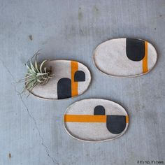 A look at the beautifully hand-crafted table and modernist ceramics From Pawena… surface design