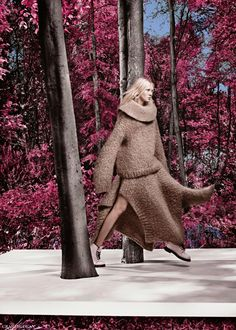 Vogue UK September 2014 | Nastya Sten + More by Craig McDean [Editorial]