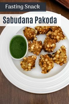 Sabudana Pakoda Recipe - deep fried fritters made from tapioca pearls, crushed peanuts and fasting flour and yogurt. The texture of this pakoda is crispy from the outside and soft from the inside. It is light and filling snack recipe.They are light, soft and fluffy from inside. And those soaked sabudana are fried and become really crispy. It was just tongue tickling, trust me you will sure love this. Indian Snacks, Indian Food Recipes, Navratri Recipes, Navratri Festival, Tapioca Pearls, Filling Snacks, Cinnamon Powder, Roasted Peanuts, Food Festival
