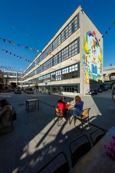 View the full picture gallery of Fabrika Tbilisi Public Architecture, Concrete Structure, Multifunctional, Interior And Exterior, Georgia, Street View, Platform, Gallery, Building