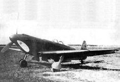 The Yak-9U is the last version which was at war. It is one of «green» Yak-9U fitted with small oil cooler wingroot intakes, narrow section, water cooler and as wing tips, as Yak-9M had. Furthermore, there isn't bullet-proof windscreen. The aircraft was adopt to serial production in a hurry. So despite high flight performance of experimental specimens the fighter considered as unreliable in combat regiments.