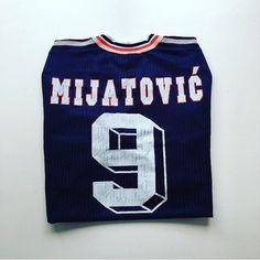 Mijatovic, Yugoslavia 98 home shirt. Link in bio! #mijatovic #pedragmijatovic #mijatovic9 #yugoslavia #france98 #worldcup #worldcupshirt #football #footballshirt #retro #retroshirt #retrofootball #vintage #vintageadidas #vintagefootball #vintagefootballshirt #classickit #classicfootball #soccer #soccerjersey #90s #90sfootball #90sfootballshirt
