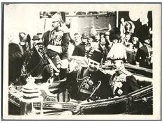 Angleterre, Visite du Roi Fouad au Roi George V    #Les_années_1900_à_1940_ #Personnalités