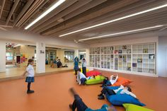 62 Projects Shortlisted for INSIDE World Interior of the Year 2016,BVN, Our Lady of the Assumption Catholic Primary School Stage 1, North Strathfield, NSW, Australia. Image Courtesy of INSIDE