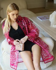 Lena Perminova in Dior