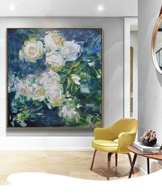 Rainy Rose Oil Painting