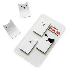 Cat Bookmark Tabs