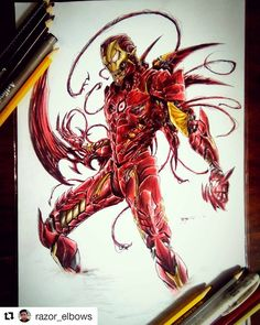 carnage fan art carnage by rolandolopez the 5 st r ward of aw yeah it 39 s. Black Bedroom Furniture Sets. Home Design Ideas