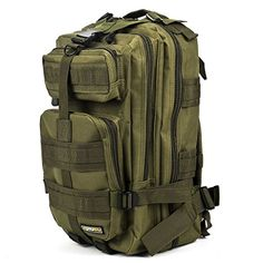 Eyourlife Military Tactical Backpack Small Rucksacks Hiking Bag Outdoor Trekking Camping Tactical Molle Pack Men Tactical Combat Travel Bag 20L Outdoor Store [gallery]  Eyourlife Military Tactical Backpack Small Rucksacks Hiking Bag Outdoor Trekking Camping Tactical Molle Pack Men Tactical Combat Go back and forth Bag 20L  Specifications:  Brand: Eyourlife  Color: Black/ Tan/ ACU Camo/ Army Green/ Desert Camo/ Camouflage  Material: 600D Oxford Cloth Nylon  Weight: Aprove 850g  Size:   Main…