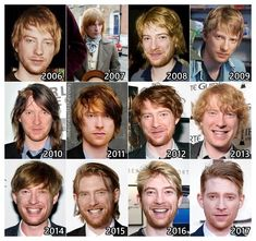 """theuncannycanofcoke:  """" anunexpectedfanboy:  """" theonewiththevows:  """"The Evolution of: Domhnall Gleeson  """"  The child of Ed Sheeran and Theon Greyjoy  """"  ROFLMAO FUCKING NAILED IT  srsly 2006 domhnall looked a fuckton like alfie allen and 2011 domhnall is..."""