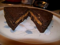 Ginny's Low Carb Kitchen: Chocolate Peanut Butter and Caramel Sandwich, LC, ...