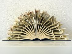 Book Art Sculpture Peacock by abadova on Etsy