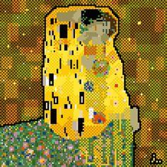 Pixel Art Klimt