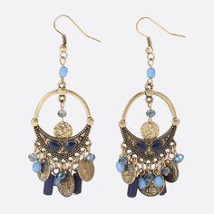Boucles d'oreilles artisan