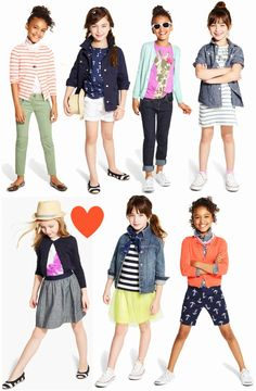 J.Crew Crewcuts {February} - outfits for little girls / back to school