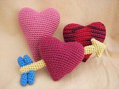 Stuffed Candy Hearts pattern by Deb Richey