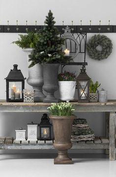 Home Decor Ideas: Post Holiday Winter Decoration for Your Home Home Decor Accessories, Decorative Accessories, Vibeke Design, Outdoor Living, Outdoor Decor, Christmas Decorations, Holiday Decor, Home And Deco, Christmas Inspiration