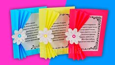 3 simple postcards on March 8 Diy Greeting Cards For Birthday, Handmade Birthday Cards, Greeting Cards Handmade, Mummy Crafts, Cute Kids Crafts, Paper Flower Vase, Paper Flowers Diy, Budget Crafts, Diy Crafts Hacks
