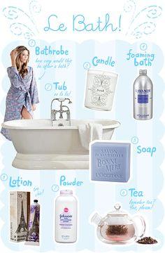 Le Bath...A little mommy time #lapetitepeach