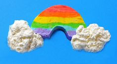How to Make Rainbow Ice Cream - Rainbows and ice cream!?!? What could be better???