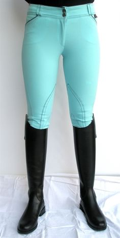 It would be fun to take a pair of white breeches and dye them your favorite color! -- how come I never thought of dye? Brilliant.