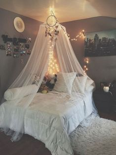 Teen Girl Bedrooms - A powerful to enjoyable pool of teen girl room images. For extra smart teen girl room styling examples simply visit the link to devour the pin tip 2840452236 immediately. Cute Bedroom Ideas, Cute Room Decor, Girl Bedroom Designs, Room Ideas Bedroom, Awesome Bedrooms, Girls Bedroom, Bed Ideas, Bedroom Furniture, Teenage Bedrooms