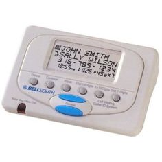 Best price on Bell South Caller ID Phone Box CI30  See details here: http://topofficeshop.com/product/bell-south-caller-id-phone-box-ci30/  With the CI30 caller ID phone box from Bell South, you can add caller ID and call waiting functionality to your current, non-caller ID enabled telephone. This box allows you to easily see a list of the last 99 incoming calls, along with their name and the time they called. A new call indicator lets you know when new caller ID entries have been received…