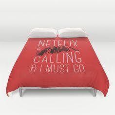 Netflix is calling Duvet Cover by Zeke Tucker - $99.00