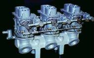 Fiat 130 triple weber manifold