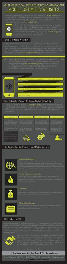 Dlaczego warto i jak zoptymalizować stronę mobilną #infographic #mobile #marketing #RT #android