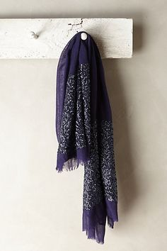 Glimmered Wool-Silk Scarf Check out both colors!! I like the gold one too!!