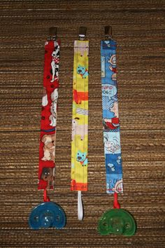 Sweet Swaddles Baby Pacifier Clip Holder by SweetSwaddles on Etsy