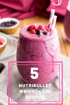 17 Most Effective Nutribullet Weight Loss Recipes - Smoothie - Nutribullet Bullet Smoothie, Smoothie Diet, Healthy Smoothies, Healthy Drinks, Lactation Smoothie, Vegetable Smoothies, Healthy Juices, Eat Healthy, Healthy Living
