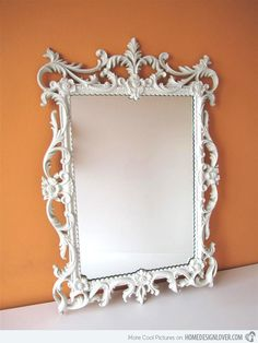 Treasure Memories in These 15 Vintage and Antique Mirrors | Home Design Lover
